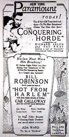 1931 March 27 Paramount Robinson et Cab.jpg
