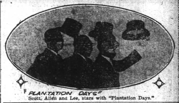 1925 0321 PIttsburgh Courier Plantation Days Trio.png
