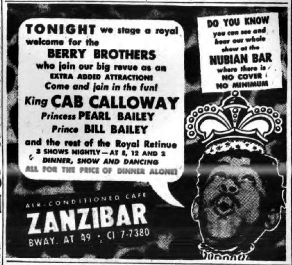 1945 0629 NY Sun Zanzibar Ad King Cab Calloway and Berry Brothers.png