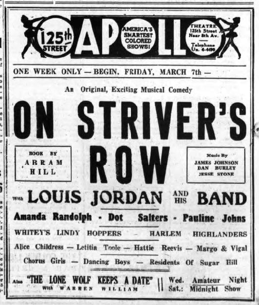 1941 0307 NYA Apollo On strivers Row Louis Jordan Dot Saulters.png