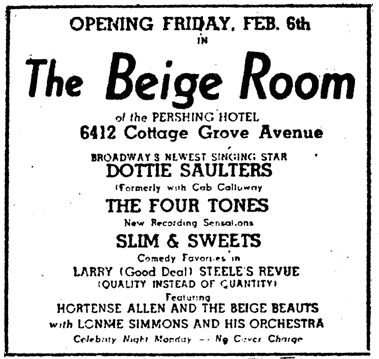 1948 0207 Chicago Def Dotty SAulters at the Beige Room.png