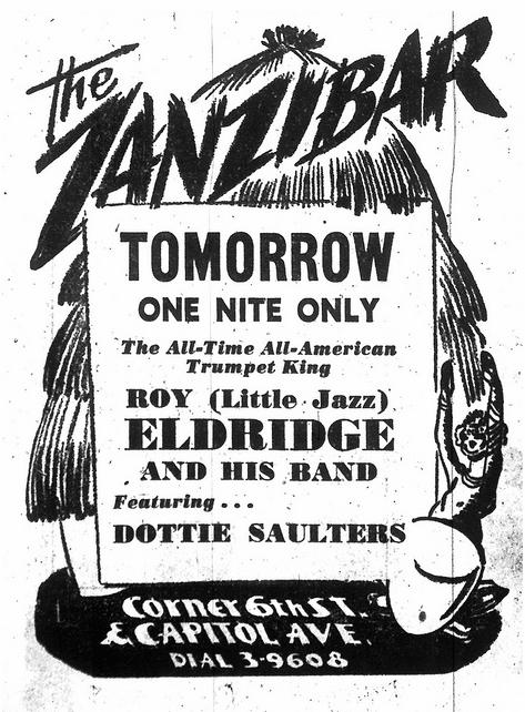 1948 1020 Sacramento Bee Zanzibar Ad with Eldridge.png