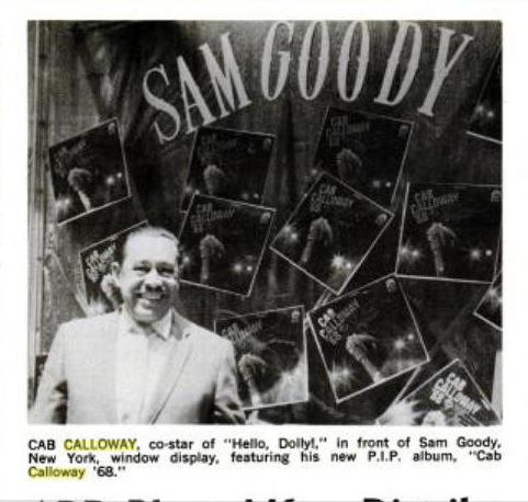 1968 0601 Billboard Cab devant Sam Goody pour Calloway LP PIP 68.jpg
