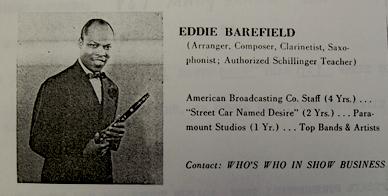 BAREFIELD Eddy 1951