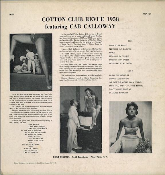 33T Cotton Club Revue 1958 GONE Back.jpg