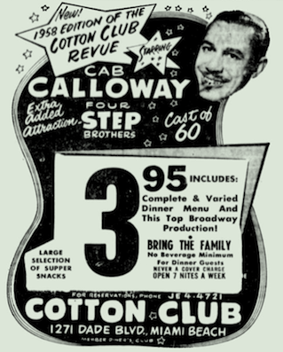 1958 01 ad Cotton Club Revue.png