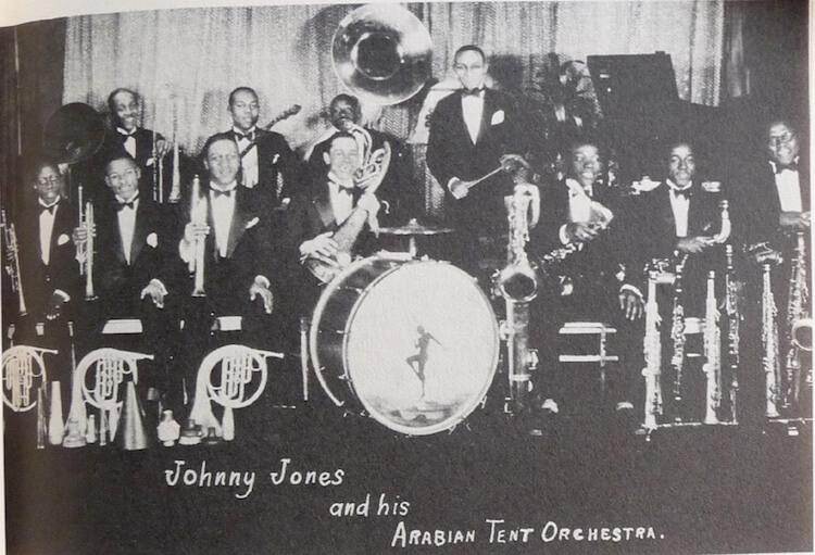1927 Johnny JONES and his Arabian TEnt Ork.jpg