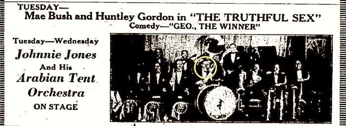 1927 0319 AA Johnny Jones and Arbian Tent Orchestra2.png