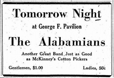 1929 0913 Binghamton NY Alabamians AD.png
