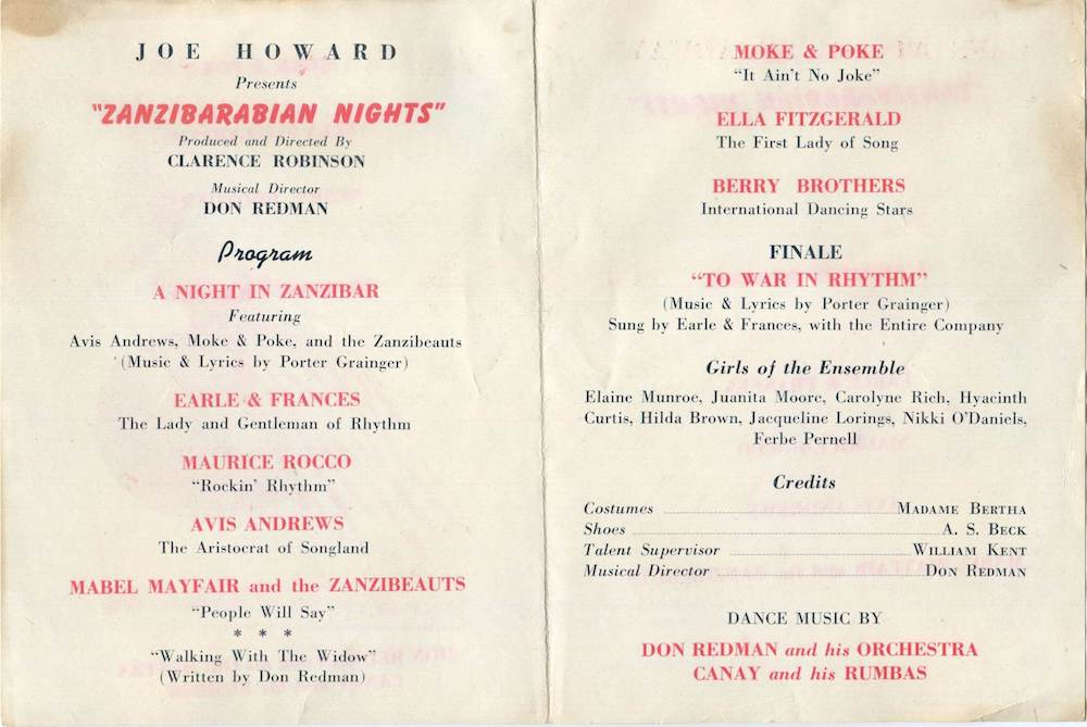 1943 Cafe Zanzibar program.jpg
