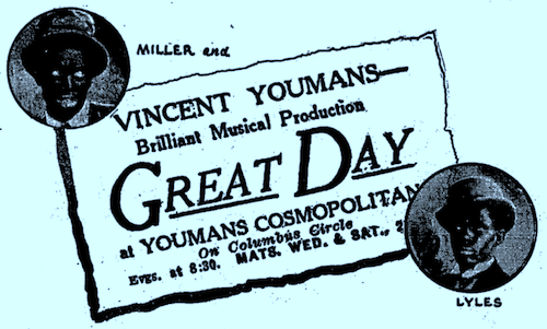 Great Day with Miller and Lyles 1929 1106 Variety.png