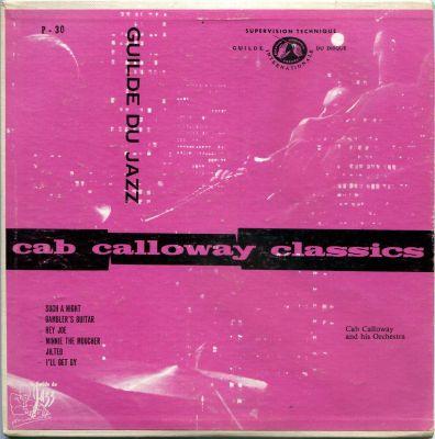 10 Cab Calloway EP La Guilde du Jazz POP 30 France.jpg