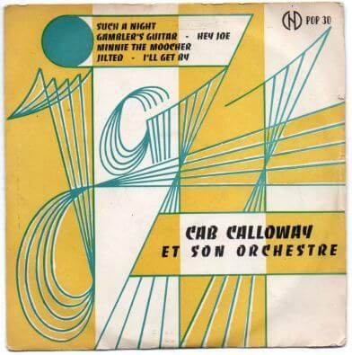 12 Cab Calloway EP La Guide du Jazz POP 30 yellow.jpg