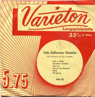 17 Cab Calloway EP Varieton POP 30 Germany alternate cover.jpg