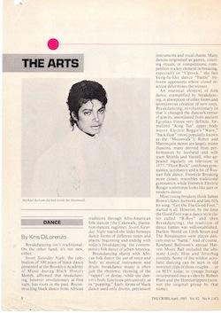 Kris DiLorenzo Michael Jackson Didn't Invent Moonwalk 1985